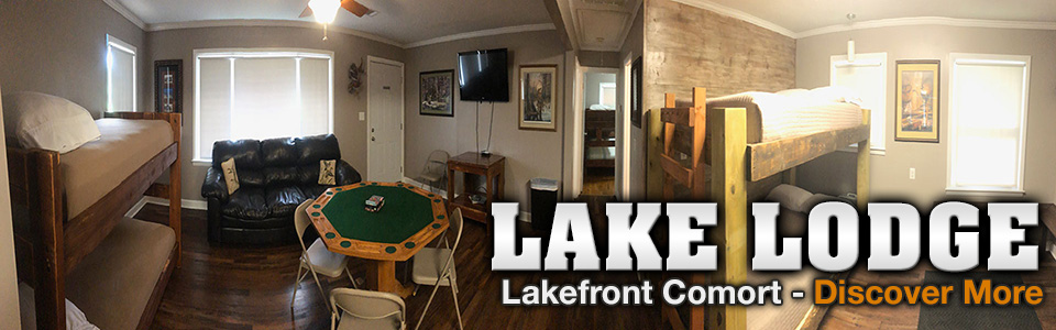 Parker's Outfitting for hunting, fishing, bowfishing and lodging on