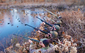 Parker's Outfitting :: Waterfowl